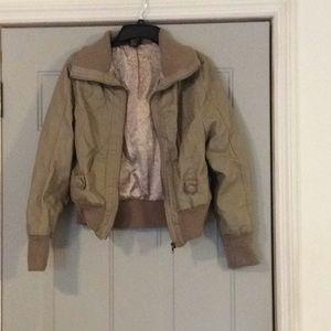 Rue 21 leather biker jacket